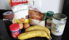 Bolo de Banana Saudável sem Açúcar