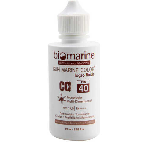 Biomarine Sun Marine CC Cream Color FPS 40