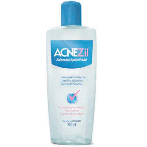 Acnezil Sabonete Líquido Facial