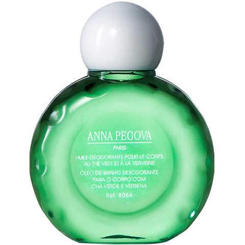 Anna Pegova Huile Déodorante Pour Le Corps Au Thé Vert Et À La Verveine - Óleo de Banho