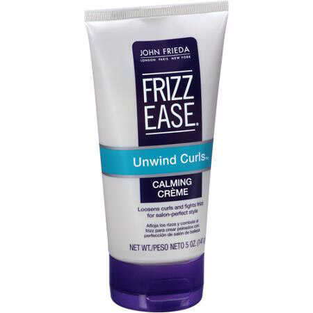 Unwind Curls Calming Creme Antifrizz John Frieda