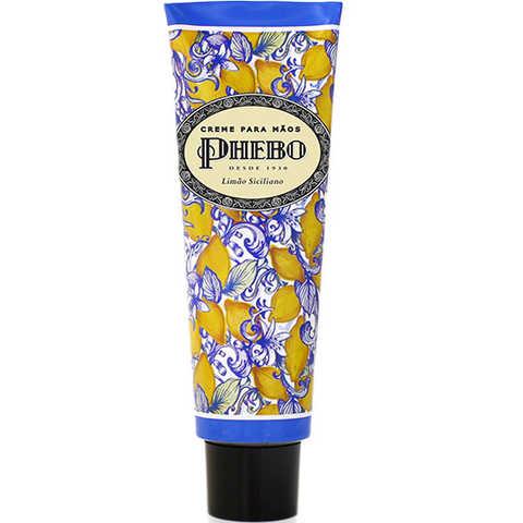 Phebo Mediterrâneo Limão Siciliano - Creme para Mãos