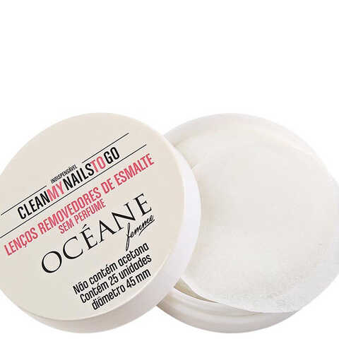 Océane Femme Clean My Nails To Go Sem Perfume