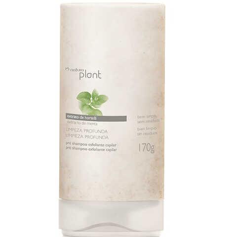 Pré Shampoo Esfoliante Limpeza Profunda Plant