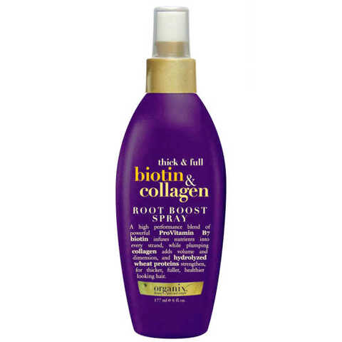 Spray de Volume Organix Biotin & Collagen  - De R$ 109,99 por R$ 59,99