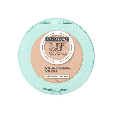 Pó Compacto Pure make Up (dourado) - De R$ 39,00 por R$ 23,00