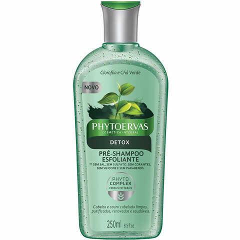 Pré-Shampoo Esfoliante Phytoervas Detox 250ml