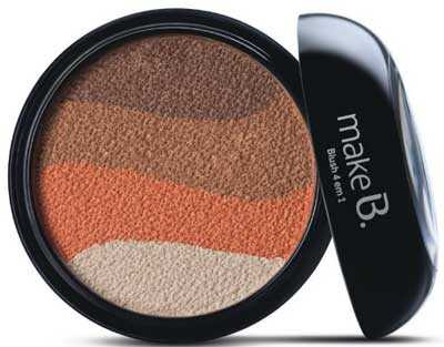 Miami Sunset com blush em tons terroso Make B