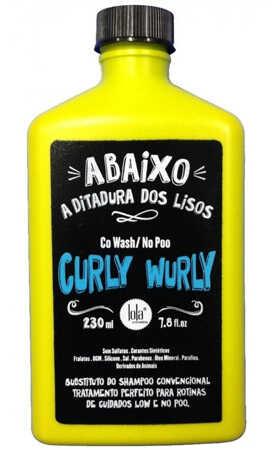 Co Wash No Poo Lola Curly Wurly Cabelos Cacheados