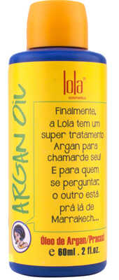 Argan Oil Lola Cosmetics - Óleo Anti-Frizz