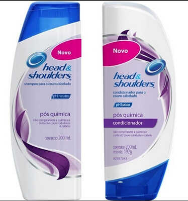 Shampoo e Condicionador pós-química, Head & Shoulders