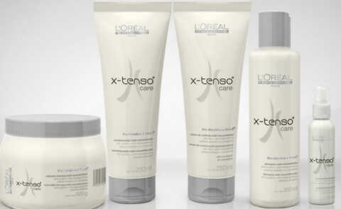 Linha X-Tenso Care, L'oréal Professionnel