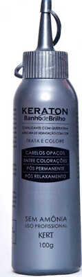 6. Coloração Keraton Banho de Brilho Prata Cendre