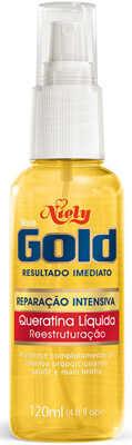 10. Queratina Líquida Niely Gold