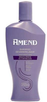 2. Shampoo desamarelador Amend
