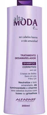 4. Shampoo Alfaparf Alta Moda desamarelador