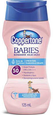 12. Coppertone Babies FPS 50