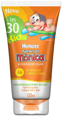 9. Huggies Turma da Mônica Kids FPS 30