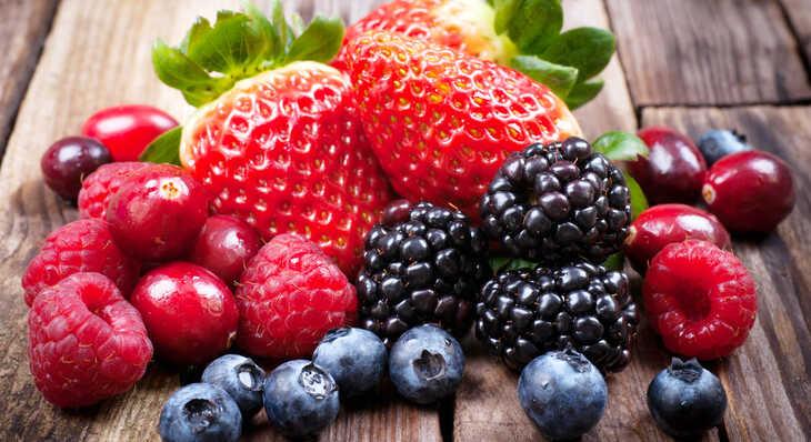 Frutas Vermelhas: Super Alimentos para sua Saúde