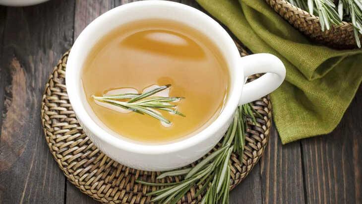 Chá para os cabelos!