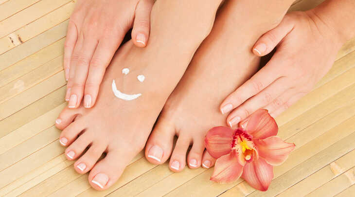 Cuide dos seus pés no verão