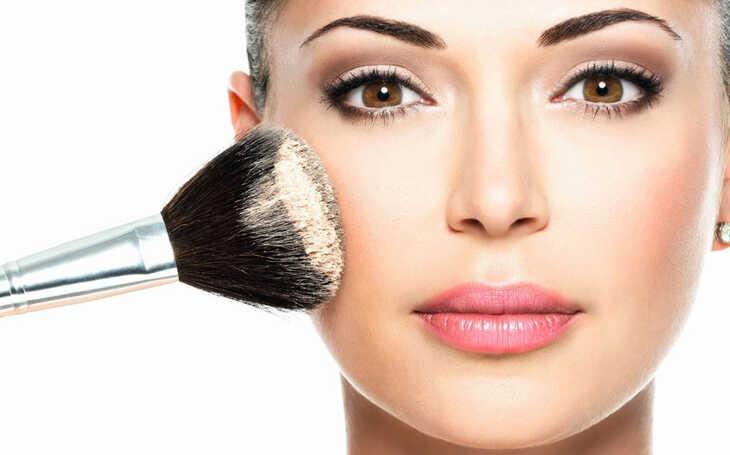 Qual a importância do pó facial?