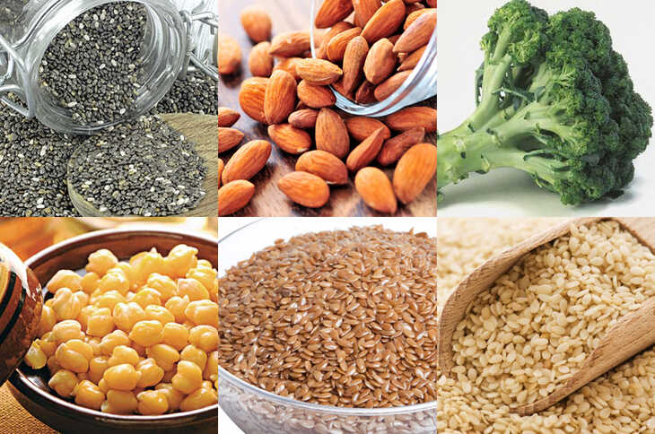 Como obter Cálcio na Alimentação (sem Leite ou Derivados)
