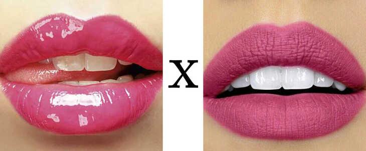 O que você prefere: gloss ou batom?