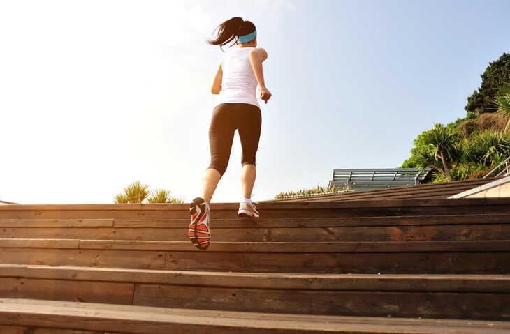 Você costuma subir escada?