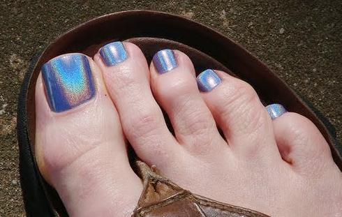 Você costuma pintar a unha dos pés?