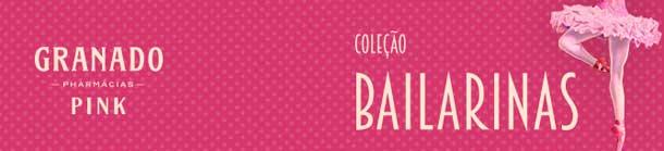 Esmaltes Granado Coleção Bailarinas