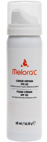 Resenha: Melora C Creme Espuma FPS50