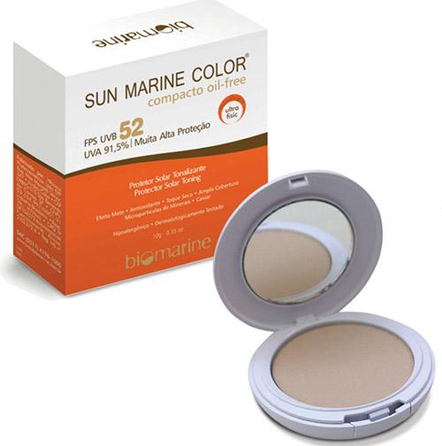 Resenha: Sun Marine Color Pó Compacto FPS50