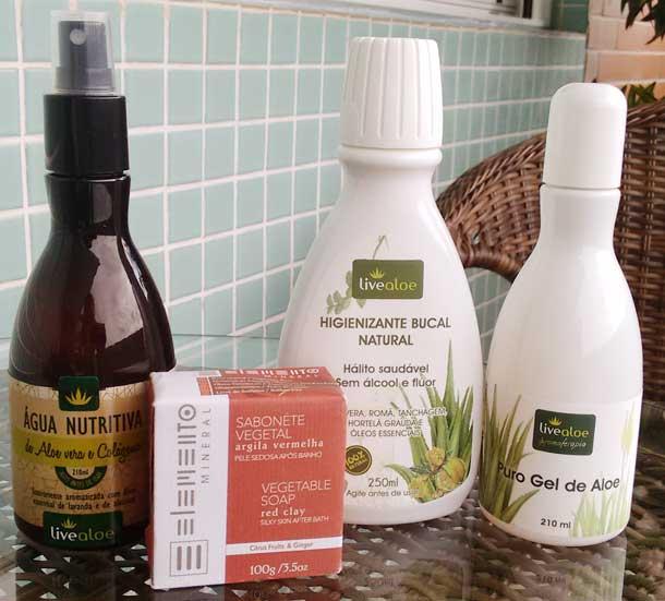 Resenha: Cosméticos Orgânicos Live Aloe