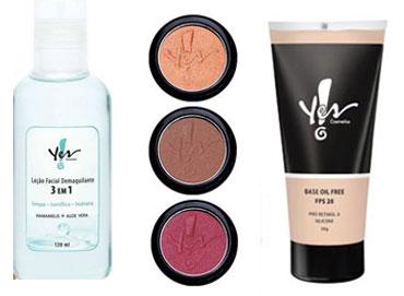 Maquiagem Yes Cosmetics