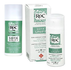 Creme Clareador Soya Unify Soin Roc
