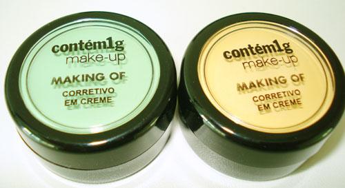 Maquiagem contém 1g