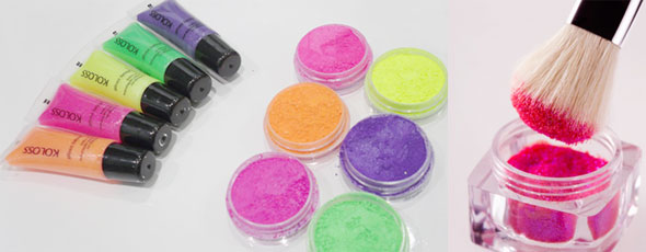 Maquiagens Vibrantes para o Verão 2011