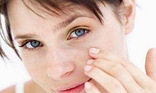 Proteção solar para a área dos olhos
