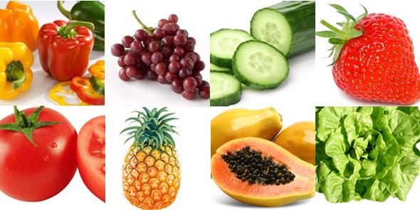 Os 8 alimentos com mais agrotóxicos