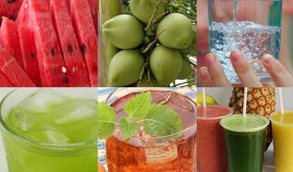 Como manter seu corpo hidratado durante o verão?